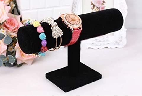 ard Stand Bracelet Chain Bangle Watch T-bar Rack Holder Display Jewelry