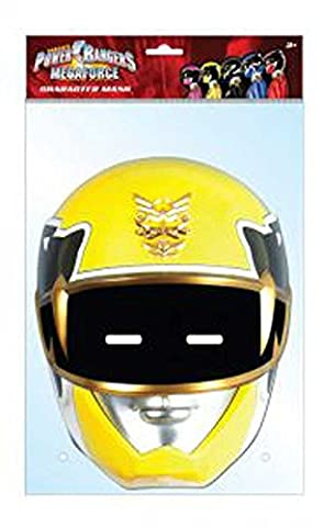 Power rangers ranger vos masque jaune yellow