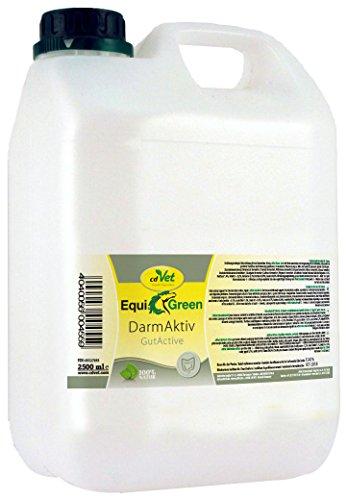 Probiotische Cd (cdVet Naturprodukte EquiGreen DarmAktiv 2,5 Liter - Unterstützung der Darmkondition - Verdauungsprobleme - Darmflora - Immunsystem - wertvolle Milchsäuren+Antioxidantien+Enzyme+Vitamine -)