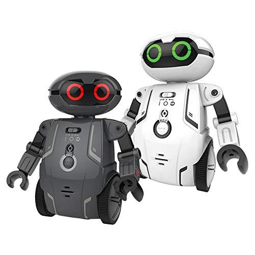 Giocattolo elettrico per bambini - robot intelligente telecomandato, può parlare e ballare, compagni per bambini ()