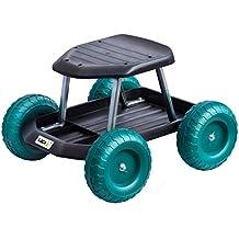 Garten Rollwagen Rollsitz Wagen Gartenwagen Sitzroller Rollhocker