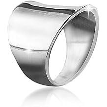 47fc29b5dc4a anillos plata mujer anchos - Amazon.es