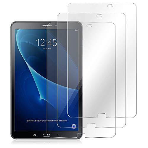 NAUC Panzerfolie kompatibel für Samsung Galaxy Tab A6 10.1 2016 Displayschutz 3X Folie Schutzfolie