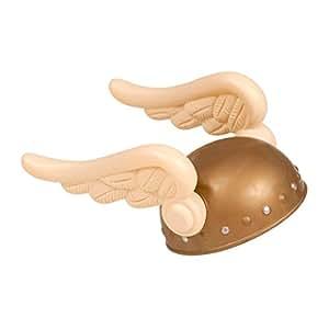 Casque enfant casque de viking doré casque viking casque de Gaulois casque pour enfant accessoire déguisement
