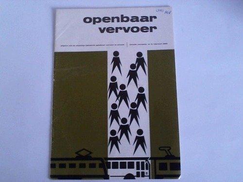 Uitgave van de stichting tijdschrift openbaar vervoer te utrecht. Tweede jaargang nr 2, februari 1969
