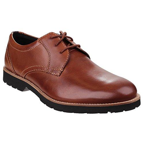 Rockport Classiczone Pt, Chaussures à Lacets Homme Cognac