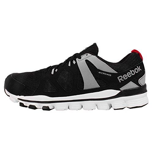 Reebok  Hexaffect Run 2.0, Chaussures de course pour homme Black-Grey-White