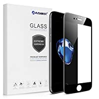 Arbalest Full Tempered Glass Screen Protector for Apple iPhone 7  Perfect Fit Unlike conventional screen protectors, Arbalest Full Glass is precisely cut to fit your iPhone 7's curved edges, covering the entire flat surface of the phone and p...