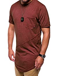 MT Styles Oversize T-Shirt style washed manches courtes C-9032