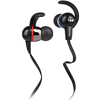 monster isport in ear sport kopfh rer schwarz. Black Bedroom Furniture Sets. Home Design Ideas