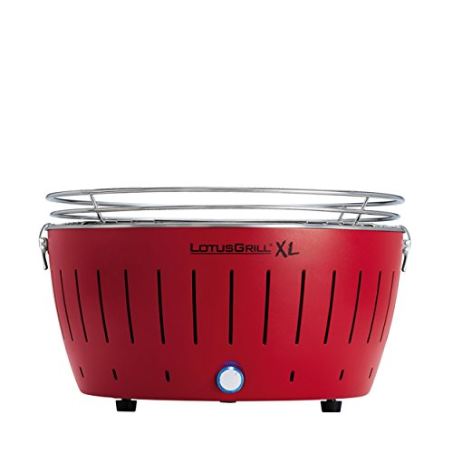 LOTUSGRILL XL - Barbecue portable 4-8 personnes Rouge