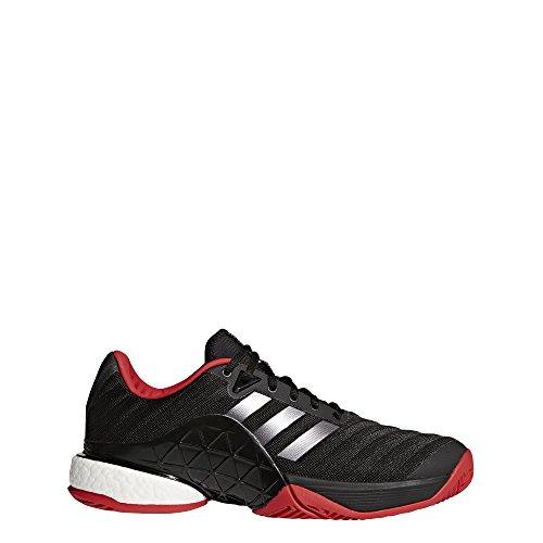 new concept f3785 629b2 Adidas Barricade 2018 Boost, Zapatillas de Tenis para Hombre, Negro  (NegbasNocmét