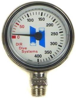 Halcyon Manómetro 0- 400 Bar / Stage