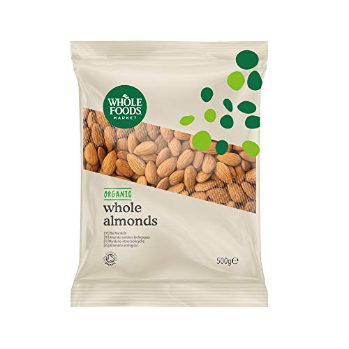 Whole Foods Market - Mandorle intere biologiche, 500 g