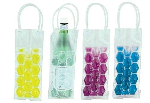 Bottle Ice Cube gel bag Cooler Wine picnic bevande drink Carrier Chiller (Ice Cooler Bag)
