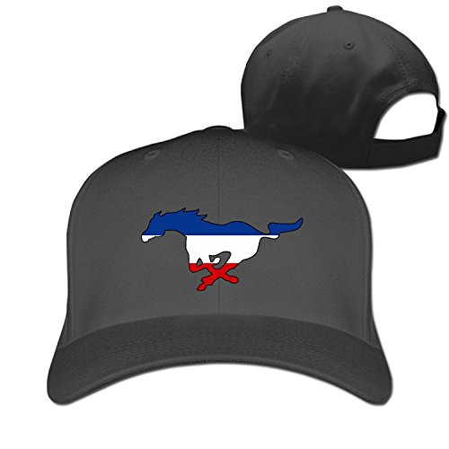 Fitty area Particular Ford Mustang Baseball Cap - Adjustable Hat - Black