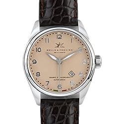 """Bello & Preciso italienische Herren-Armbanduhr Modell """"43"""" Cipria"""
