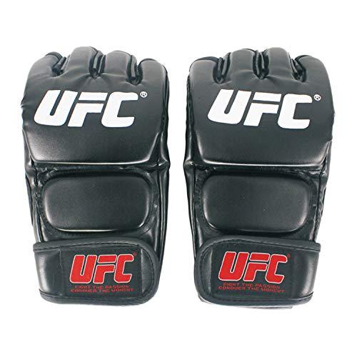 Cradifisho,Guantoni da Boxe MMA, Sport UFC, Guanti da Allenamento da Combattimento(Palmo 9-12 cm)