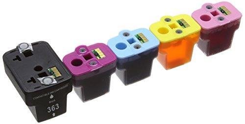 Preisvergleich Produktbild Prestige Cartridge HP 363 24-er Pack Druckerpatronen für Photosmart 3100 3108 3110 3200 3210 3310 8200 8230 8250 C5100 C5140 C5150 C5160 C5170 C5173 C5175 C5180 C5185 C5190 C5194 C6150 C6160 C6170 C6175 C6180 C6185 C6190 C6200 C6240 C6250 C6270 C6280 C6283 C6284 C6285 C6288 C7150 C7170 C7180 C7183 C7185 C7190 C7200 C7250 C7270 C7275 C7280 C8150 C8170 C8180 C8183 D6100 D6160 D7100 D7145 D7155 D7160 D7163 D7168 D7180 D7260 D7280 D7300 D7345 D7355 D7360 D7460 D8200 D8230 D8250 P3210, schwarz / cyan / magenta / gelb / hell cyan / hell magenta