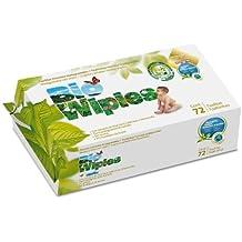 Toallitas Húmedas Biodegradables- Bolsa de 72 piezas