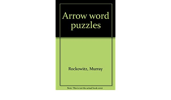 arrow word puzzles amazoncouk murray rockowitz 9785903019144 books