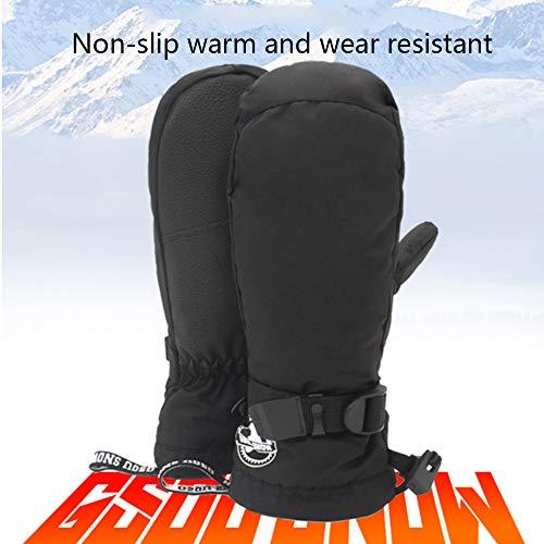 NCBH wasserdichte Ski-Snowboardhandschuhe für Herren Warmer Thinsulate-Liner-Winter-Ski-Snowboardhandschuh,S Thinsulate Winter Liner