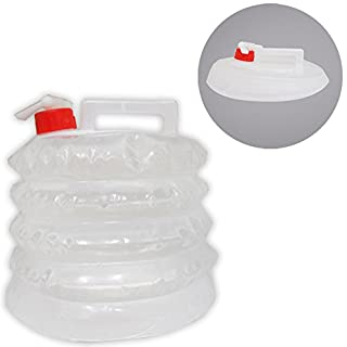 ADROIT Expandable Collapsible Water Carrier Bag Container Jug - 5 Liter - Food-Safe: TA-94600