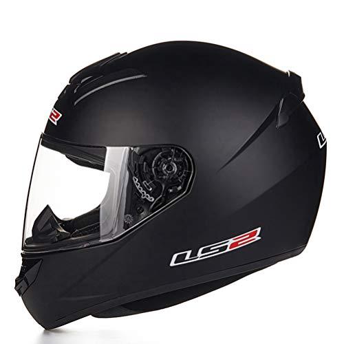 Unisex-Motorradhelm für Erwachsene Allgemeine Jahreszeiten FogProof Full Face Moto Motocross Helme XXL