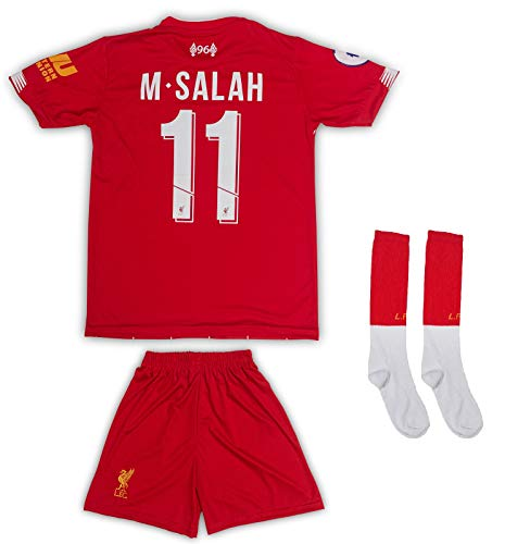 AND Liverpool #11 Salah 2019/2020 - Camiseta Manga