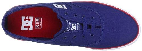 DC Shoes Flash TX Mens Shoe Flash Tx Shoe, Baskets mode homme Azul (Blau (DC NAVY/TRUE RE))