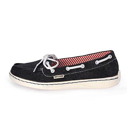 Hey Dude MOKA CLASSIC Damen Slip Auf Schuhe Marine 39 Schuhe Slip