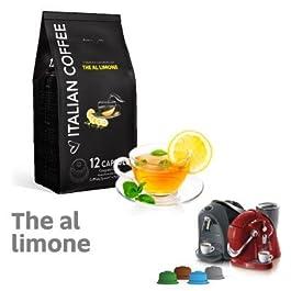 CAFFITALY 120 capsule compatibili Te al Limone