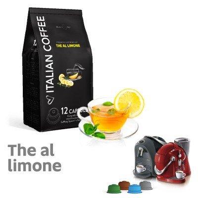 CAFFITALY 180 capsule compatibili Te al Limone