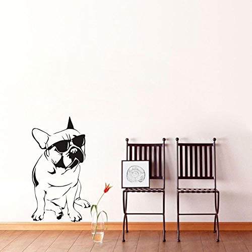 Aufkleber EBay geladen coole Brille Hund Glas Aufkleber Wandaufkleber geschnitzte Aufkleber PVC