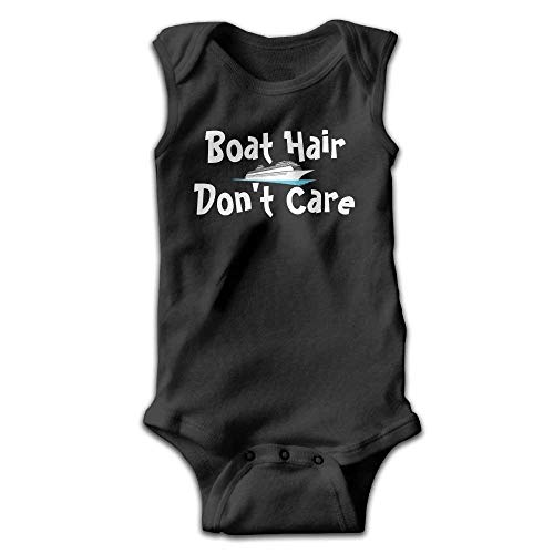 xcvgcxcvasda Ärmelloser Strampler für Babys Boat Hair Don't Care Baby Sleeveless Romper Bodysuit Jumpsuit Cotton Comfortable Cute Pattern Texas Cookie Cutter