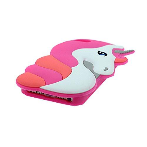 iPhone 5S Copertura,iPhone 5 case,iPhone SE/5G,iPhone 5 Custodia per ragazze,Gomma molle del fumetto di stile della rana della serie 3D [Shock Proof] case cover per il iPhone SE/5/5S/5G -verde rosa