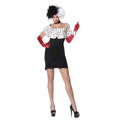 Das Böse Madame - Crulla - Erwachsene (Böse Kostüme)