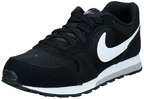 Nike MD Runner 2 GS 807316-001, Zapatillas de Deporte Unisex Adulto, Multicolor 807316 001 Negro...