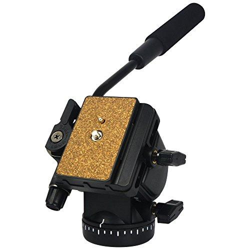 MENGS 950 professionelles Universal Fotografie Hydraulikdruck Stativkopf mit hochfestem ABS-Kunststoff