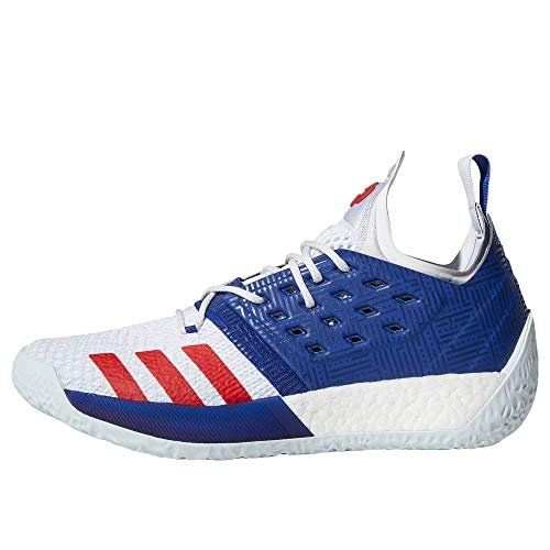 adidas Herren Harden Vol. 2 Basketballschuhe, Blau Mysink/Ftwwht/Blutin, 49 1/3 EU