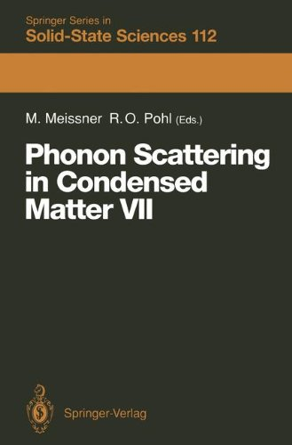 Phonon Scattering in Condensed Matter VII: Proceedings of the Seventh International Conference, Cornell University, Ithaca, New York, August 3-7, 1992 ... Series in Solid-State Sciences, Band 112)