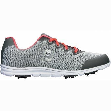 FootJoy Enjoy Golf Shoes 2016 Ladies Grey Mist Medium 7.5