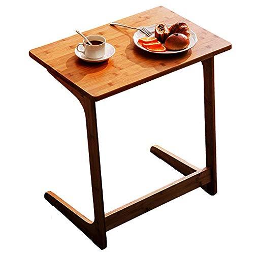 Ecktisch/Computer Freizeit Tisch Mode Bambus Sofa Beistelltisch Nacht Laptop-Tisch, Persönlichkeit Ecke/Teetisch Zhuo L-förmigen Wohnzimmer Schreibtisch (Größe: 60x40x65cm) - L-förmigen Schreibtisch Möbel