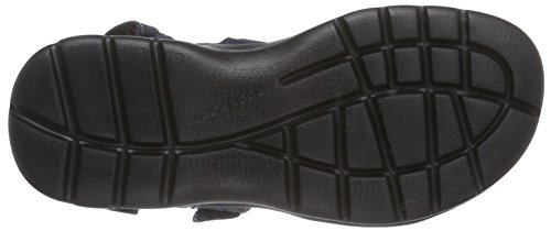 Rockport Get Your Kicks Sandals Quarter Strap, Sandales Bride cheville homme Bleu - Bleu marine