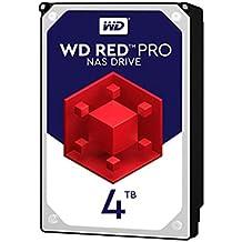Western Digital WD4002FFWX - Disco duro interno HDD de 4 TB, Interface SATA3 (6 Gb/s), color rojo