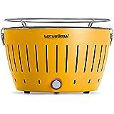 LotusGrill G-GE-34 - Barbacoa de carbón sin humo, color amarillo