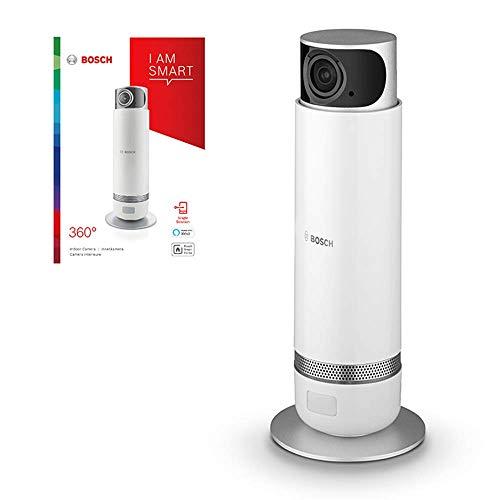 Bosch Smart Home Überwachungskamera (360° drehbar, funktioniert mit Alexa, 2. Generation, Variante...