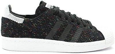 Adidas Superstar 80's Primeknit Hombre Zapatillas Negro