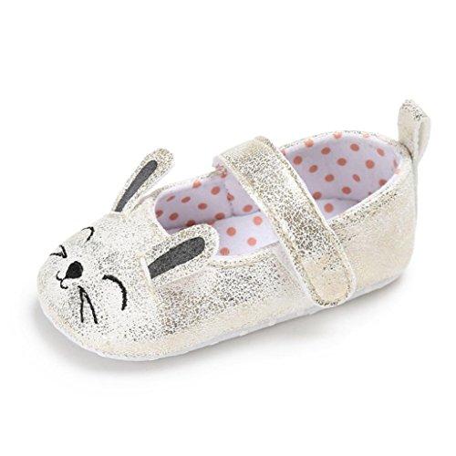 Clode® Kleinkind Baby Wave Point Neugeborenes Nettes Katzenmuster scherzt weiche Sole Schuhe Glod