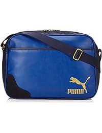 c364cbeac Puma Originals Reporter - Bolso bandolera (PU) azul Limoges Talla:40 x 28